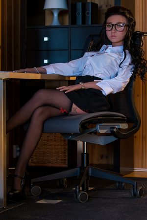 140cm D CUP Office Lady love doll Tessa