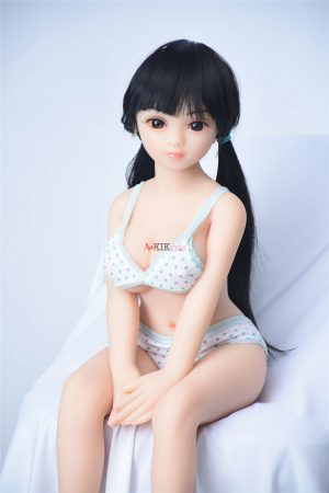 65cm realistic silicone tiny sex doll