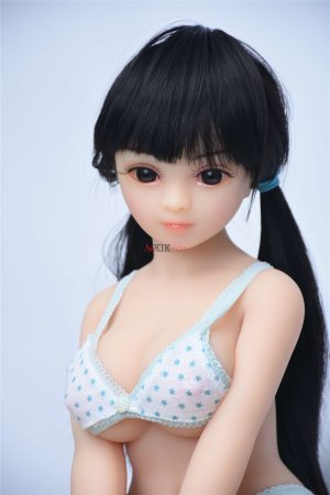 65cm realistic silicone mini sex doll