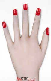 Red fingernails