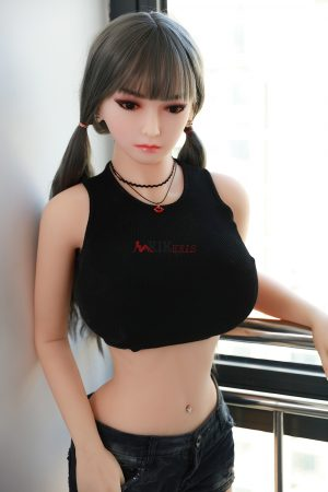 125cm big booty mini silicone sex doll