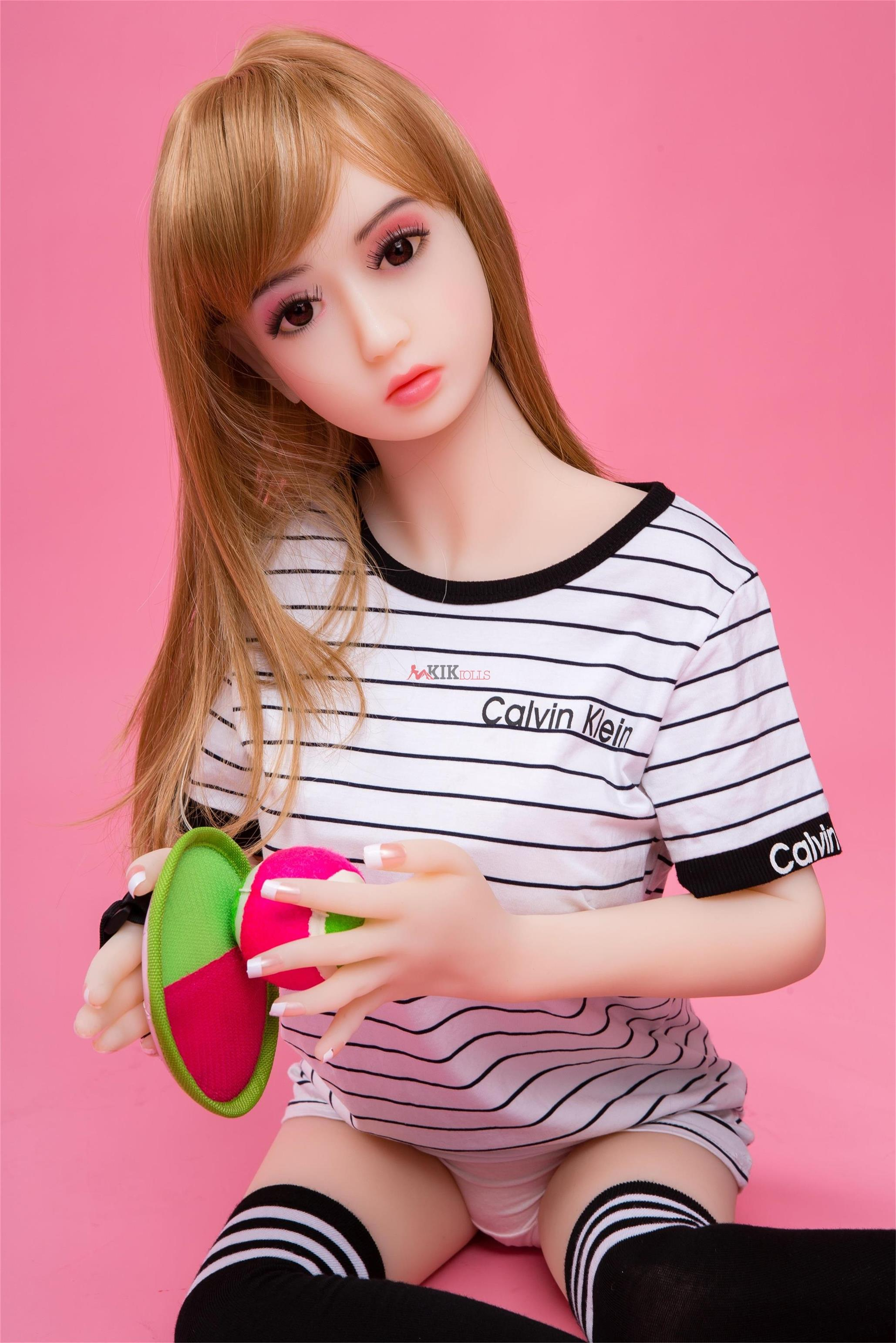 125cm lifelike silicone sex doll for sale Amy