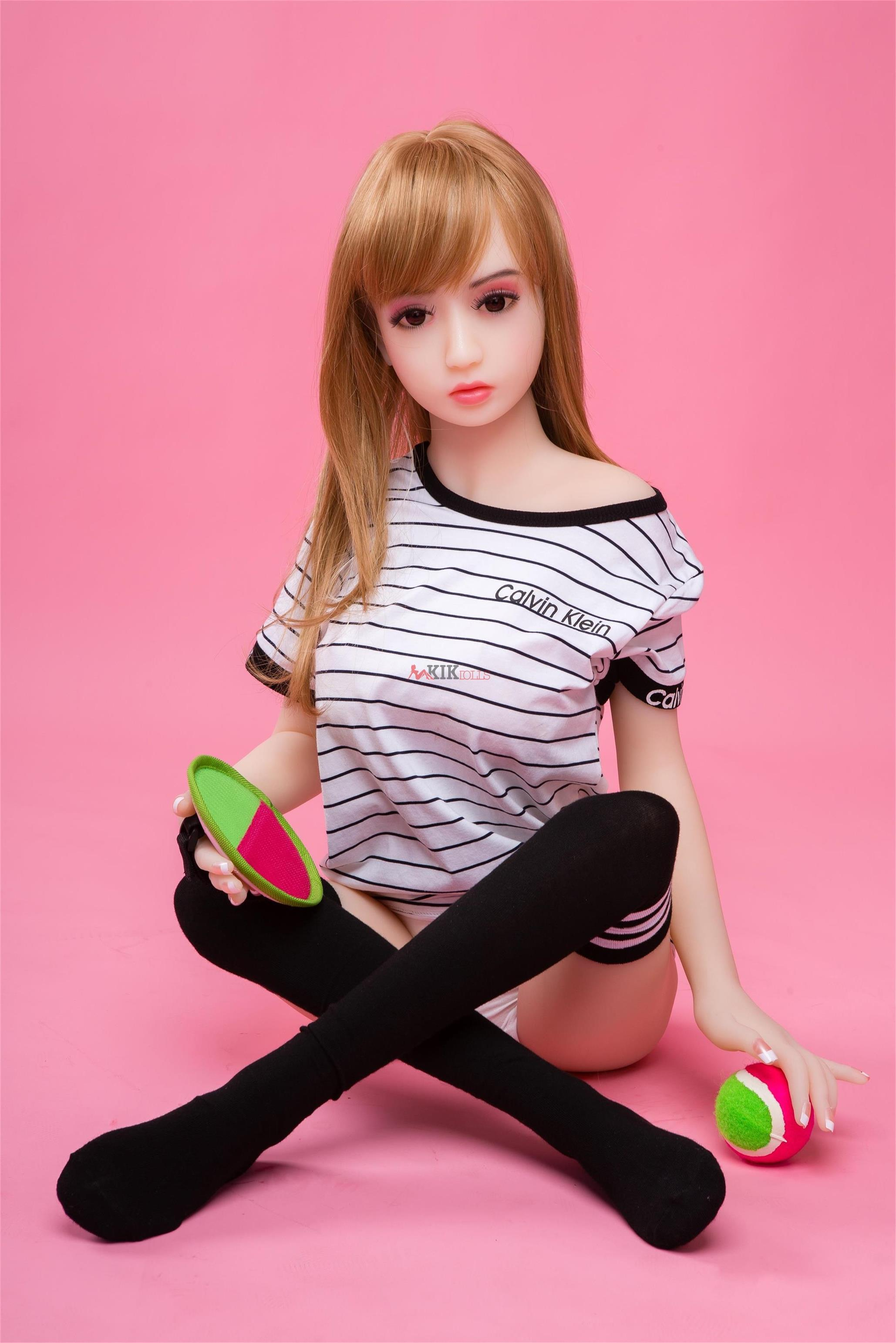 125cm lifelike silicone sex doll for men Amy