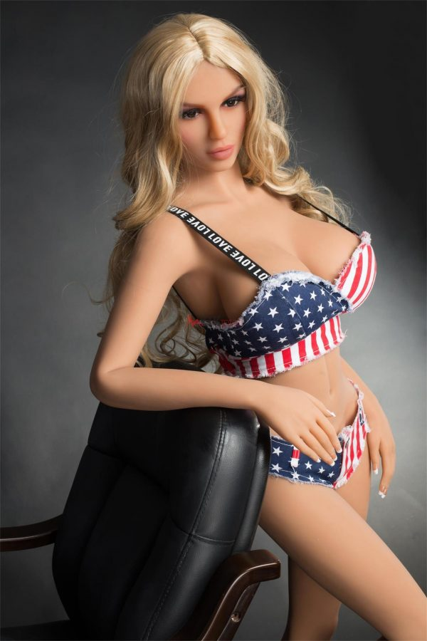 165 cm full size American silicone love doll Nina