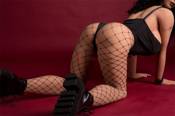 170cm best full size ebony sex doll Phoebe