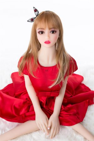 125cm mini silicone Japanese sex doll Jenna