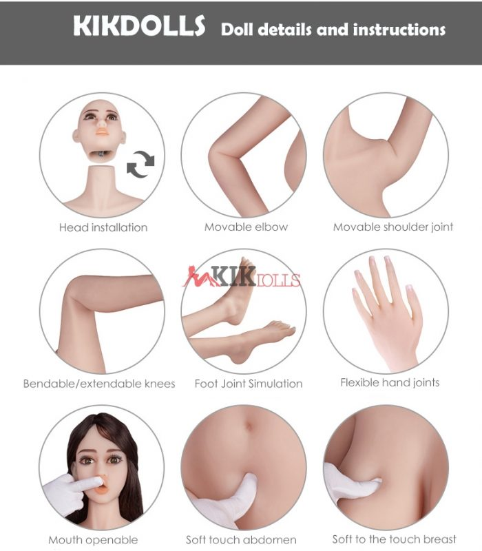 sex dolls details and instructions