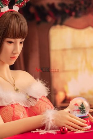 Amaris - 168m Christmas Sexy Girl life size silicone sex doll