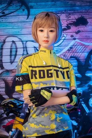 Erika - 158cm Asian mountain bikers female silicone sex dolls