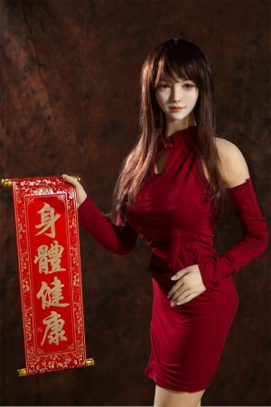 Jiaqi-158cm Realistic Sex Doll Spring Festival Holiday Dress Up